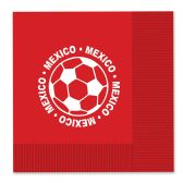 12 Units of Luncheon Napkins - Mexico (2-Ply)