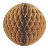 12 Units of Kraft Paper Ball - Hanging Decorations & Cut Out