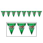 12 Units of Horse Racing Pennant Banner all-weather; 12 pennants/string - Party Banners