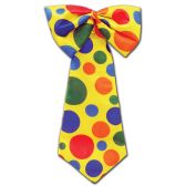 12 Units of Clown Tie one size fits most; elastic attached
