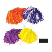 144 Units of FR Tissue Shaker - 320 Strand black; order in solid or 2-color combination - Party Novelties