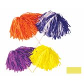 144 Units of FR Tissue Shaker - 320 Strand yellow; order in solid or 2-color combination - Party Novelties