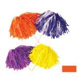 144 Units of FR Tissue Shaker - 480 Strand orange; order in solid, 2- or 3-color combination