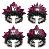 12 Units of Sweet 16 Tiaras - Party Hats & Tiara