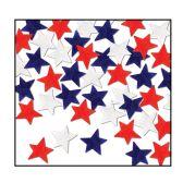 12 Units of Tissue Star Confetti red, white, blue - Streamers & Confetti