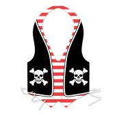 48 Units of Plastic Pirate Vest full-size