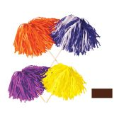 144 Units of FR Tissue Shaker - 320 Strand brown; order in solid or 2-color combination - Party Novelties