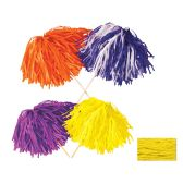 144 Units of FR Tissue Shaker - 480 Strand golden-yellow; order in solid, 2- or 3-color combination - Party Novelties