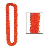 144 Units of Soft-Twist Poly Leis orange