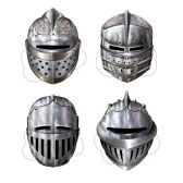 12 Units of Knight Masks elastic attached - Party Hats & Tiara