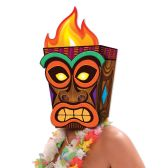 6 Units of Jumbo Tiki Mask assembly required; one size fits most - Party Hats & Tiara