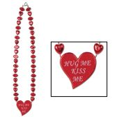 12 Units of Valentine Heart Necklace