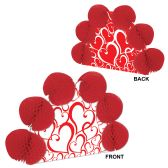 12 Units of Valentine Pop-Over Centerpiece different design front & back - Hanging Decorations & Cut Out