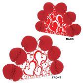 12 Units of Valentine Pop-Over Centerpiece different design front & back