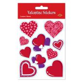 12 Units of Valentine Stickers