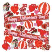 1 Units of Valentine Decorating Kit - 40 Pcs