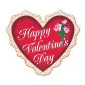 12 Units of Valentine Sign prtd 2 sides