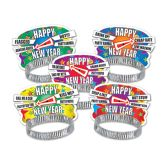 50 Units of Party Personality New Year Tiaras - Party Hats & Tiara