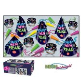 Neon Midnight Asst for 10 NO RETAIL PRICE ON CARTON - Party Accessory Sets