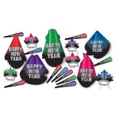 New Year Resolution Asst for 10 NO RETAIL PRICE ON CARTON - Party Accessory Sets