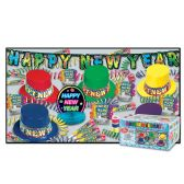 Rainbow Blast Asst for 10 NO RETAIL PRICE ON CARTON - Party Accessory Sets