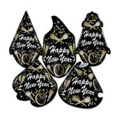 50 Units of New Year Tymes Hat Assortment one size fits most; elastic attached - Party Accessory Sets