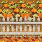 6 Units of Pumpkin Patch Backdrop insta-theme