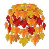 12 Units of Leaves Of Autumn Cascade combination metallic & boardstock - Party CenterPieces