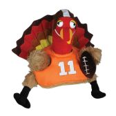4 Units of Plush Touchdown Turkey Hat one size fits most
