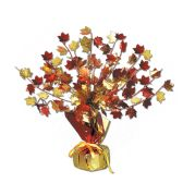 """12 Units of Fall Leaves Gleam 'N Burst Centerpiece 15"""" - Party Center Pieces"""