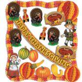 Thanksgiving Decorating Kit - 23 Pcs