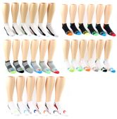 60 Units of Men's FILA Brand Ankle Socks - 6-Pair Packs (Size 10-13) - Mens Ankle Sock