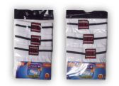 24 Units of Boys White Briefs - 3 Pack - Boys Underwear
