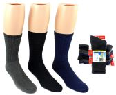 20 Units of Men's Wool Blend Thermal Crew Socks