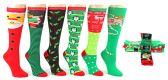 60 Units of Christmas Knee High Socks - Size 9-11