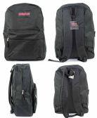 "12 Units of 17"" Classic PureSport Backpacks - Black - Backpacks 17"""
