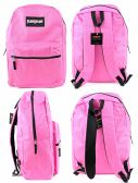 "12 Units of 17"" Classic PureSport Backpacks - Pink - Backpacks 17"""