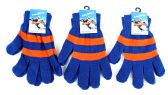 60 Units of Adult Magic Gloves-Blue and Orange