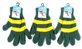60 Units of Adult Magic Gloves-Green and Gold