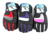 36 Units of Women's Ski Gloves - Ski Gloves