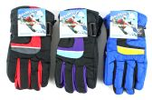 36 Units of Children's Ski Gloves - Ski Gloves
