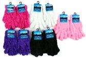 72 Units of Women's Feather Gloves
