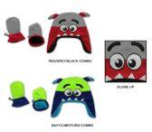 48 Units of Baby Boy's Fleece Lined Earflap Hat & Mitten Sets - Monster Designs