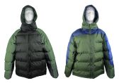 12 Units of Men's Winter Bubble Ski Jackets w/ Detachable Hood - Choose Your Color(s) - Mens Jackets