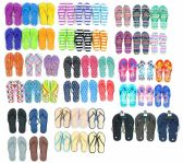 96 Units of Men's and Women's Flip Flop Assortment