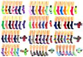 180 Units of Women's & Children's Novelty Crew Socks Combo