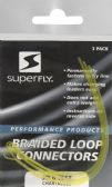 24 Units of Superfly BRAIDED LOOPS-CHARTREUSE - Fishing - Fishing Accessories