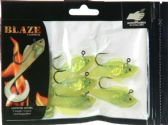 "42 Units of Blaze 3"" RIGGED GRUBS 5PK CHT/SILVER - Fishing - Lures"