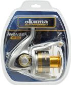 2 Units of Okuma AVENGER 55B SPIN REEL CLAM PK - Fishing - Reels