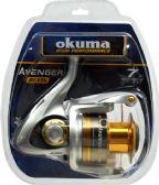 2 Units of Okuma AVENGER 65B SPIN REEL CLAM PK - Fishing - Reels